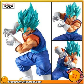 "Japan Anime ""Dragon Ball SUPER"" Original Banpresto Collection Figure - Super Saiyan God SS Vegetto FINAL KAMEHAMEHA Limit Break"