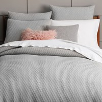 Ripple Texture Duvet Cover + Shams