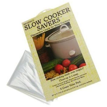 Slow Cooker Savers - Disposable Crock Pot Liners - 8 pk