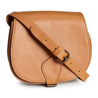 H&M - Saddle-style Bag - Beige - Ladies