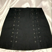 SWEET LORD O'MIGHTY! OG XTINA SKIRT IN BLACK