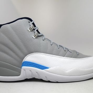 Air Jordan 12 Retro University Grey 2016 Basketball Shoes <>
