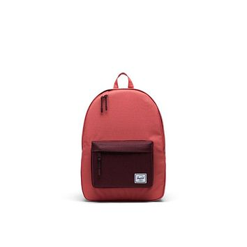 Herschel Supply Co. - Classic Mineral Red Plum Mid Volume Backpack