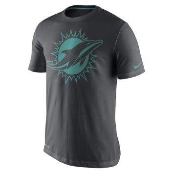 Nike Team Travel Dri-FIT (NFL Dolphins) Men's T-Shirt