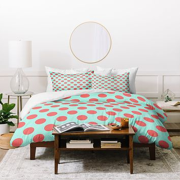 Allyson Johnson Adorable Dots Duvet Cover