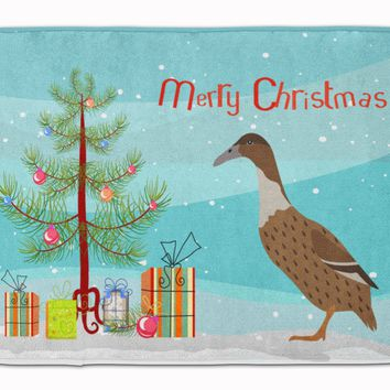 Dutch Hook Bill Duck Christmas Machine Washable Memory Foam Mat BB9228RUG