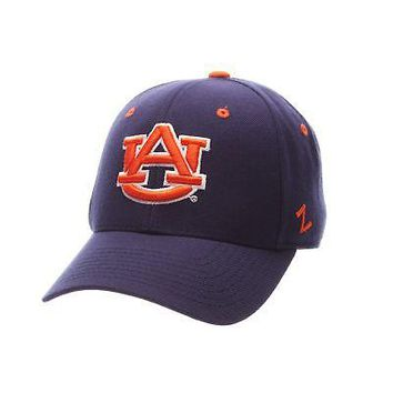 Licensed Auburn Tigers Official NCAA DH Size 7 3/8 Fitted Hat Cap by Zephyr 128794 KO_19_1