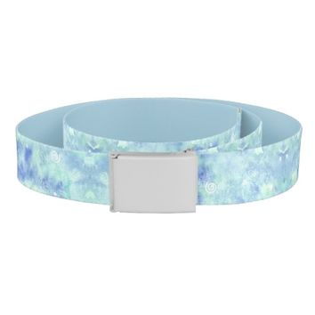 Customizable belt - Blue lagoon
