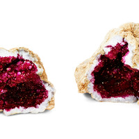 Glamour Geode, Pink, Rocks, Crystals, Minerals & Petrified Wood