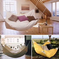 Bean Bag Chair + Hammock | WooHome