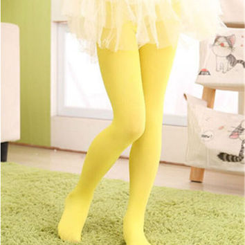 christmas yellow clothing baby girls tights wapiti cotton tights kids girls pantyhose warm winter christmas's stockings 0-18.