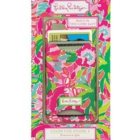 iPhone 5 With Credit Card Slots - Lilly Pulitzer