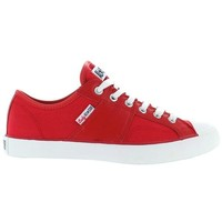 Converse All Star Chuck Taylor Lady All Star Oxford - Red Canvas Lace-Up Sneaker