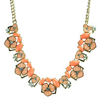 Pretty Choker Fancy Statement Necklace
