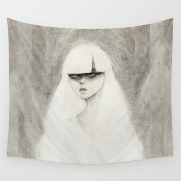 From the Other Side Wall Tapestry by Ben Geiger
