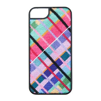 Limited Edition Madras Needlepoint iPhone 6 Case by Smathers & Branson - FINAL SALE