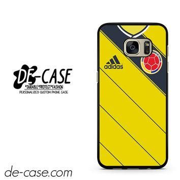 Colombia Soccer Jersey DEAL-2788 Samsung Phonecase Cover For Samsung Galaxy S7 / S7 Ed