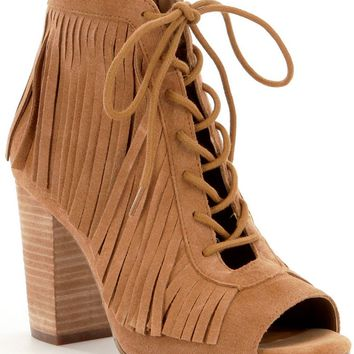 GB Heat-Wave Fringe Shooties | Dillards