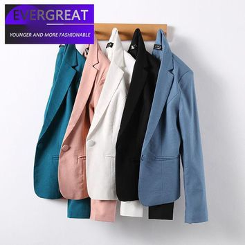 Work Wear Women's Blazer 2017 New Ol Fashion Plus Size Professional Formal Long Sleeve Jacket Office Ladies Slim Coat Autumn 4xl