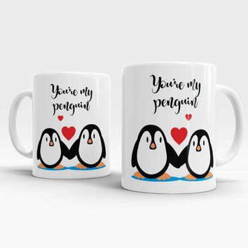 You're My Penguin Owl - Inspirational Coffee Mug