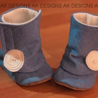 "AK DESIGNS ""Elegant Baby Shoes"" - Little Baily"
