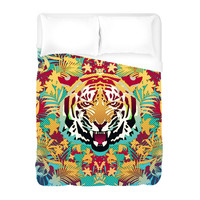 Hypnotic Tiger Duvet Cover