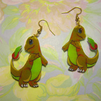 Charmander Earrings