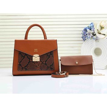 Hermes casual two-piece one-shoulder bag hot seller in serrated patchwork color #2