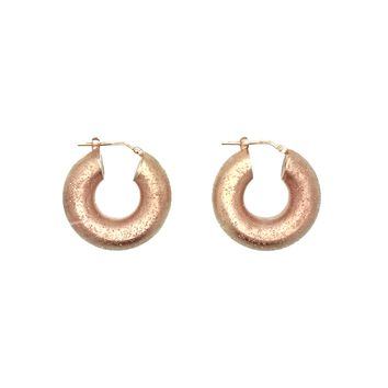 Elusive Pink Plated Silver, Earrings
