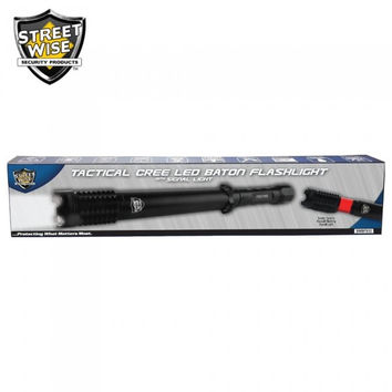 Streetwise Cree LED Baton Flashlight w/ Signal Light