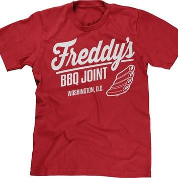 Freddy's BBQ Joint - Washington DC T-shirt - House Of Cards Tee