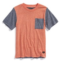 Boy's Quiksilver 'Wakefield Pop' Colorblock Pocket T-Shirt,