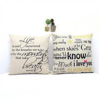 Home Decor Pillow Cover 45 x 45 cm = 4798394372