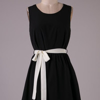 Ebony and Ivory Dress