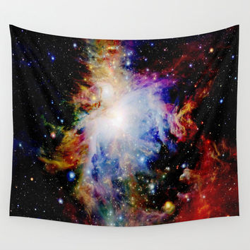 Tapestry| Wall Tapestry | Galaxy Tapestry| Orion Nebula |Rainbow Tapestry| Lightweight | Indoor / Outdoor|Colorful Wall Art| Wall Hanging