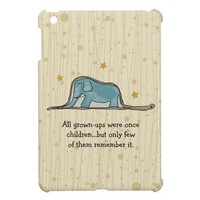 The Little Prince Elephant inside Boa Constrictor Cover For The iPad Mini from Zazzle.com
