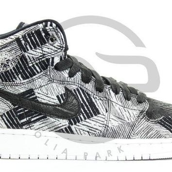 PEAPUX5 AIR JORDAN RETRO 1 HIGH BHM GG (GS) - BLACK HISTORY MONTH