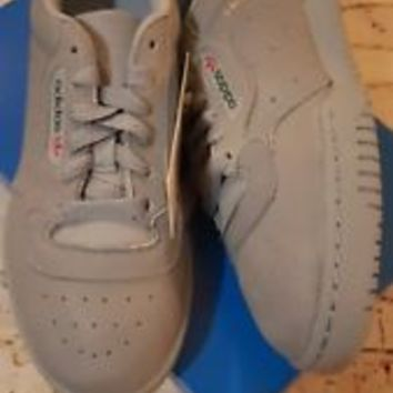 ADIDAS YEEZY POWERPHASE Calabasas Grey Sz 6 DS! 100% Authentic boost 350 ultra