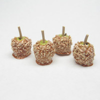 Miniature Hand Dipped Caramel Apples