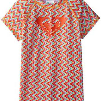 Roxy Big Girls' Catching Short Sleeve Rashguard