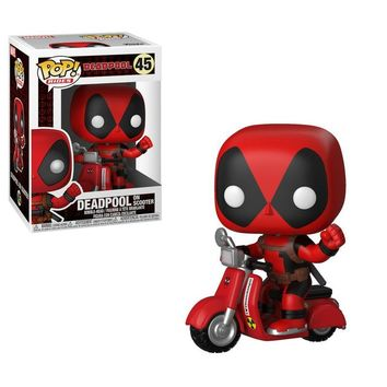 Deadpool with Scooter Funko Pop! Rides Marvel Deadpool