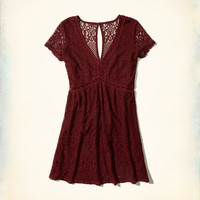 Girls Lace Babydoll Dress | Girls New Arrivals | HollisterCo.com