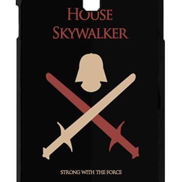 Star Wars House Skywalker Strong With The Force Samsung Galaxy S4 Cases - Hard Plastic, Rubber Case