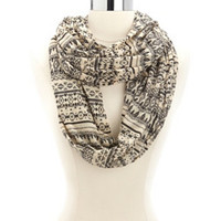 DIGITAL TRIBAL INFINITY SCARF