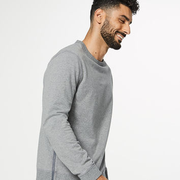 Cross Cut Long Sleeve Crew | Men's Long Sleeve Tops | lululemon athletica