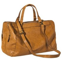Bueno Weekender Handbag with Removable Crossbody Strap - Tan