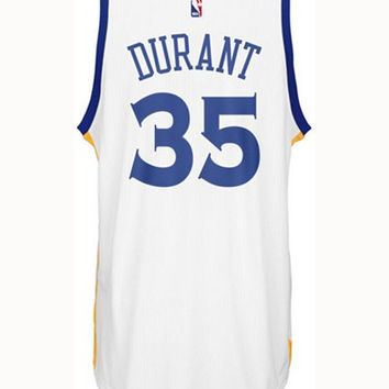 Adidas Mens Kevin Durant Golden State Warriors New Swingman Jersey