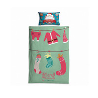 Bedroom Hot Deal Hot Sale Home On Sale Comfortable Lovely Christmas Costume Print Cushion Children Quilt Case [6344185798]