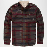 Vans Gilman Mens Shirt Stripe  In Sizes