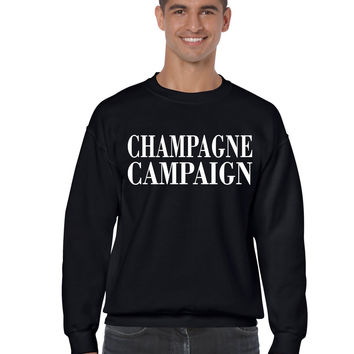 Champagne campaign Private Party mens Sweatshirt